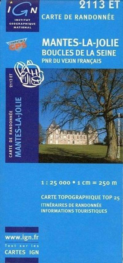 Mantes-La-Jolie 1 : 25 000