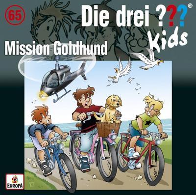 Die drei ??? Kids 65: Mission Goldhund