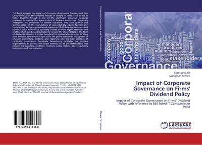 Impact of Corporate Governance on Firms' Dividend Policy