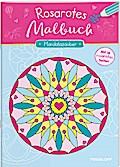 Rosarotes Malbuch. Mandalazauber; Mit 16 rosaroten Seiten!; Malbücher und -blöcke; Ill. v. Mennig, Johannes/Lautenschläger, Ursula; Deutsch; farb. illustriert