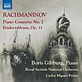 Klavierkonzert Nr. 2 / Études-tableaux, Op. 33, 1 Audio-CD