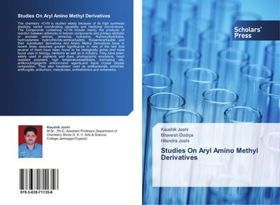 Studies On Aryl Amino Methyl Derivatives