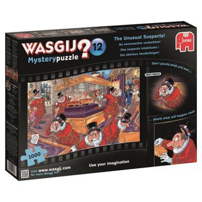 Wasgij Mysterypuzzle 12 Die üblichen Verdächtigen! - 1000 Teile - Jumbo Spiele Gmbh - Spielzeug, Niederländisch| Englisch| Französisch| Deutsch, , ,