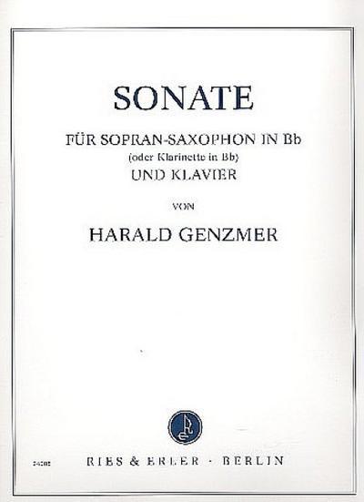 Sonate für Sopransaxophon undKlavier