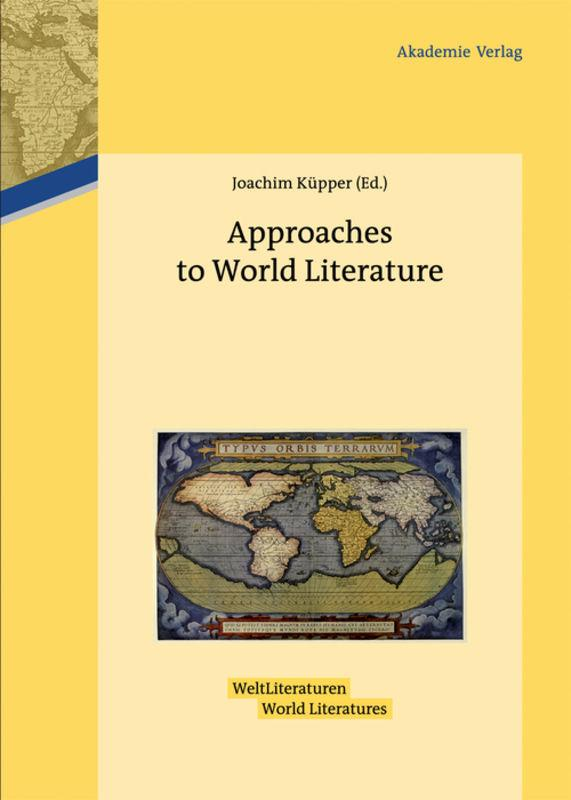 Approaches to World Literature Joachim Küpper