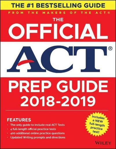 The Official ACT Prep Guide 2018-2019