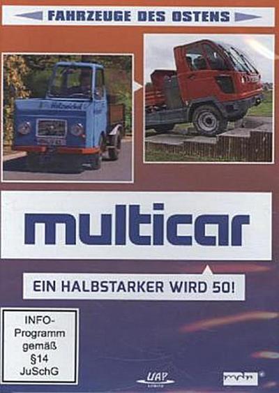 MULTICAR - Ein Halbstarker wird 50!, 1 DVD