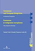 Consensus and European Integration.  Consensus et intégration européenne