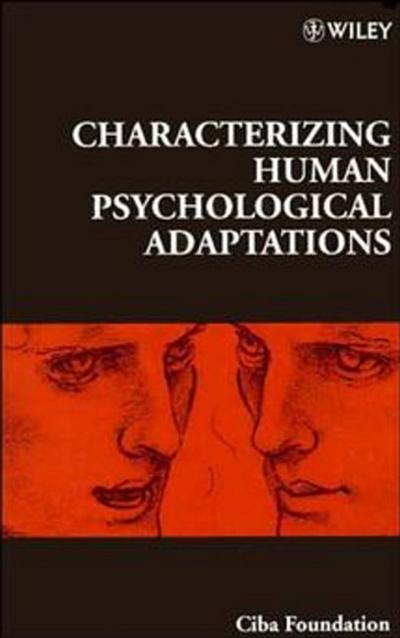 Characterizing Human Psychological Adaptations