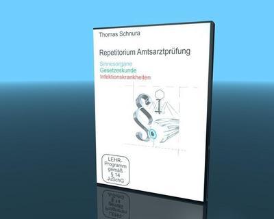 Repetitorium Amtsarztprüfung 6 - Sinnesorgane/Gesetzeskunde/Infektionskrankheiten - Video-Commerz Gmbh - DVD, Deutsch, Thomas Schnura, Werner Sandrowski, DE, DE