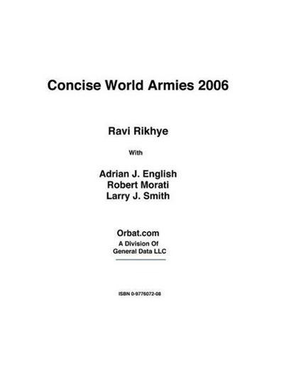 Concise World Armies 2006