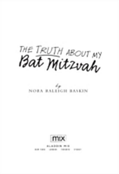 Truth About My Bat Mitzvah