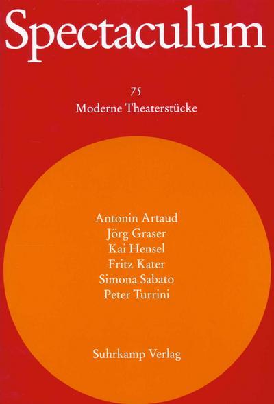 Spectaculum 75. Sechs moderne Theaterstücke und Materialien