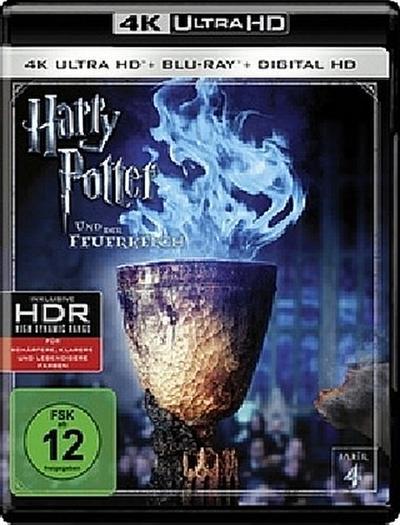 Harry Potter und der Feuerkelch 4K, 1 UHD-Blu-ray