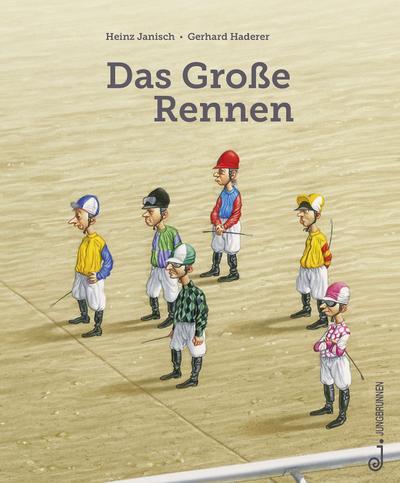 Das Große Rennen; Ill. v. Haderer, Gerhard; Deutsch