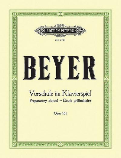 Vorschule im Klavierspiel op. 101