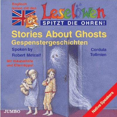 Leselöwen spitzt die Ohren. Stories about ghosts. Cassette.