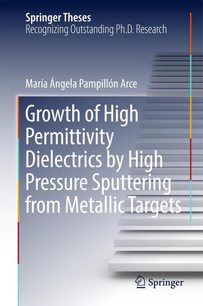 Growth of High Permittivity Dielectrics by High Pressure Sputtering from Metallic Targets