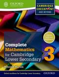Complete Mathematics for Cambridge Lower Secondary 3: Cambridge Checkpoint and beyond (Complete Mathematics for Cambridge Secondary 1, Band 3)