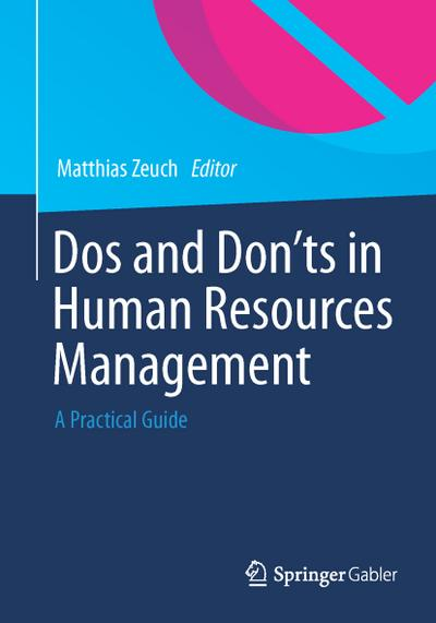 Do's and Don'ts in Human Resources Management