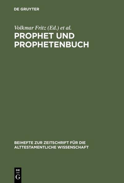 Prophet und Prophetenbuch