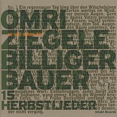 Billiger Bauer-15 Herbstlieder