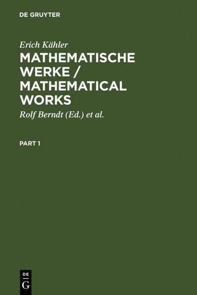 Mathematische Werke / Mathematical Works