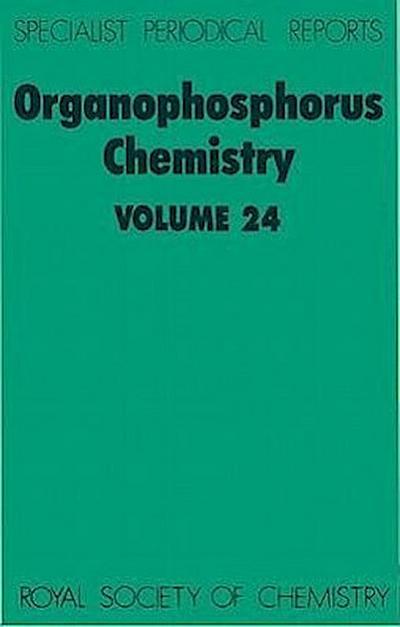 Organophosphorus Chemistry: Volume 24