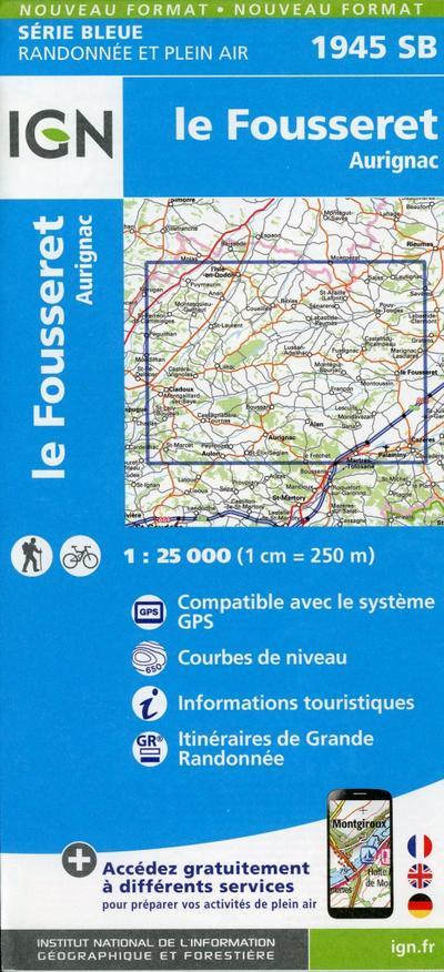 Le Fousseret 1:25 000