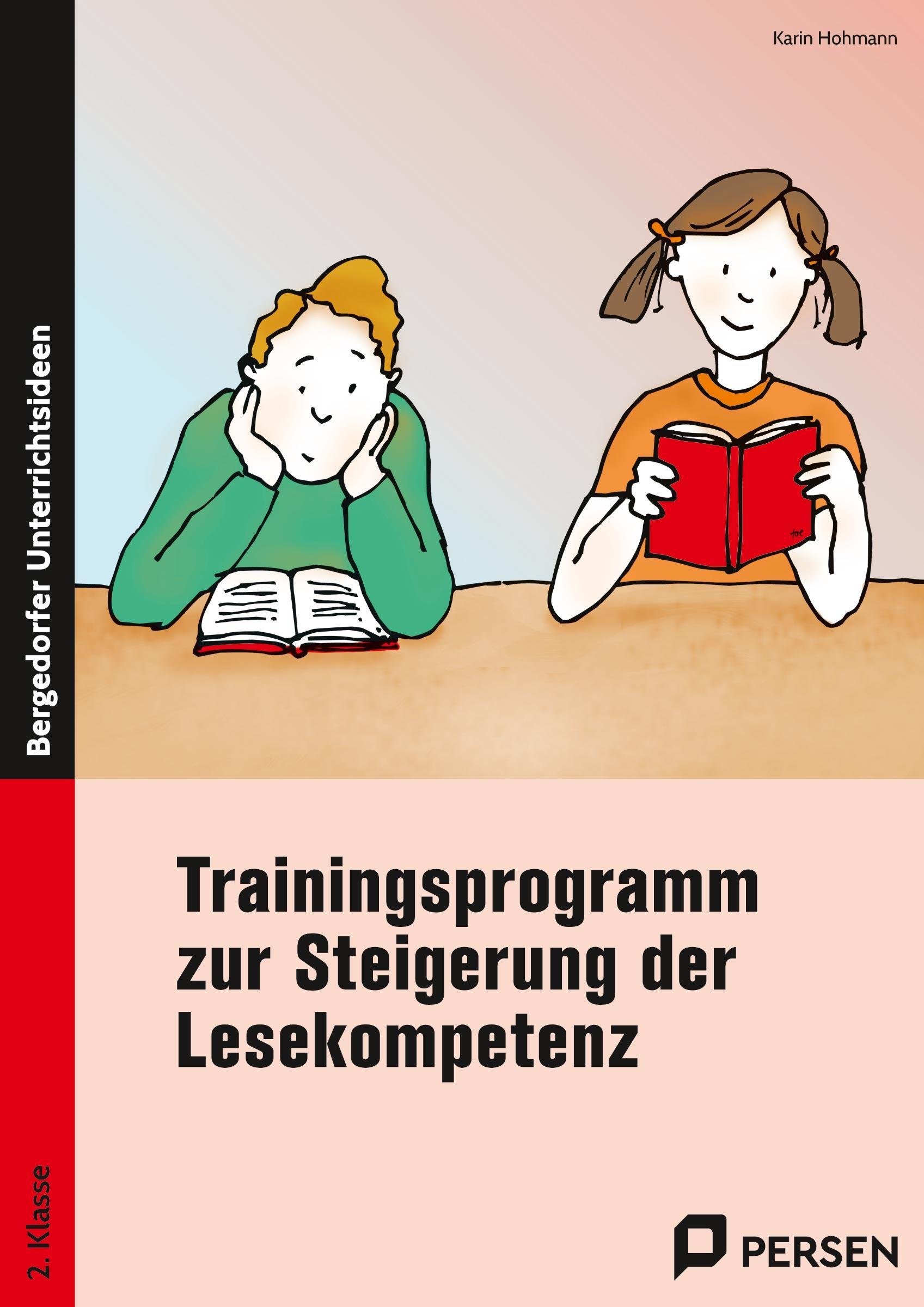 Trainingsprogramm zur Steigerung der Lesekompetenz Karin Hohmann