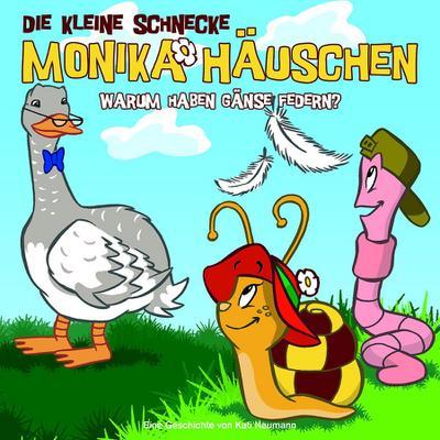 Die kleine Schnecke Monika Häuschen 02. Warum haben Gänse Federn?