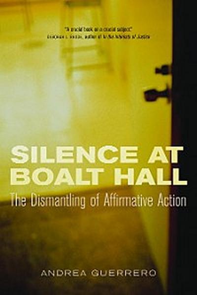 Silence at Boalt Hall