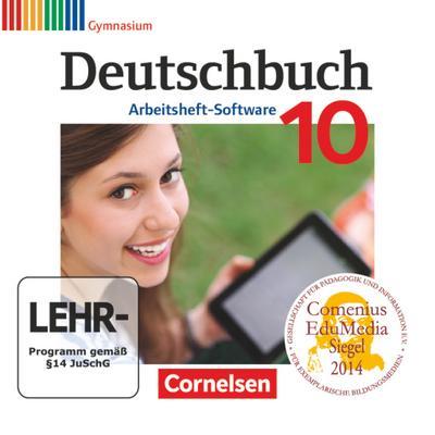 Deutschbuch Gymnasium 10. Schuljahr - Übungs-CD-ROM zum Arbeitsheft
