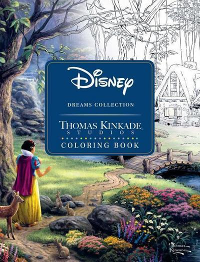 Disney Dreams Collection Thomas Kinkade Studios Coloring Boo