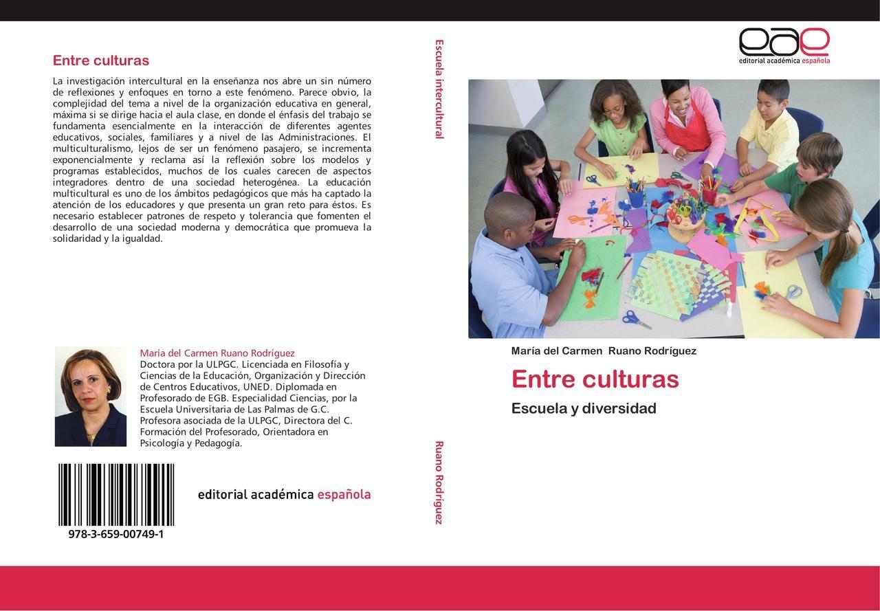 María del Carmen Ruano Rodríguez : Entre culturas : 9783659007491