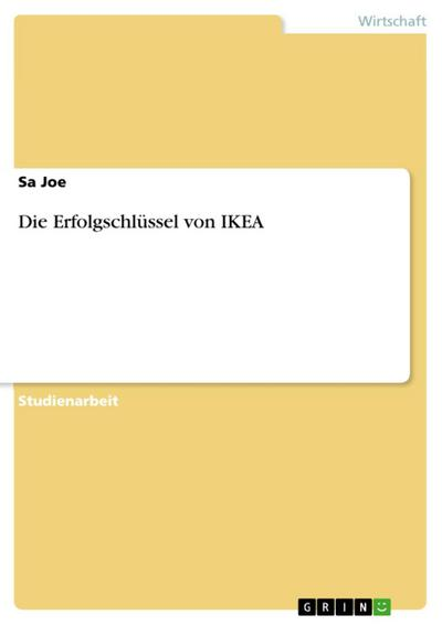 Die Erfolgschlüssel von IKEA