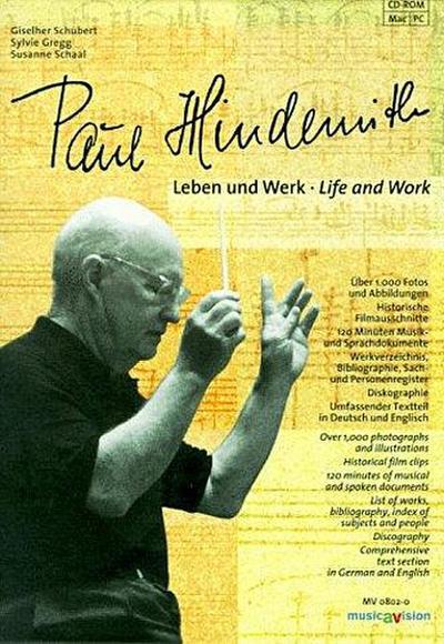Paul Hindemith, Leben und Werk, 1 CD-ROM Für Windows 3.1/3.11/95/NT 4.0 und MacOS 7.5. Dtsch.-Engl.