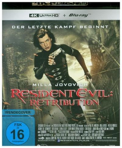 Resident Evil: Retribution 4K, 1 UHD-Blu-ray + 1 Blu-ray