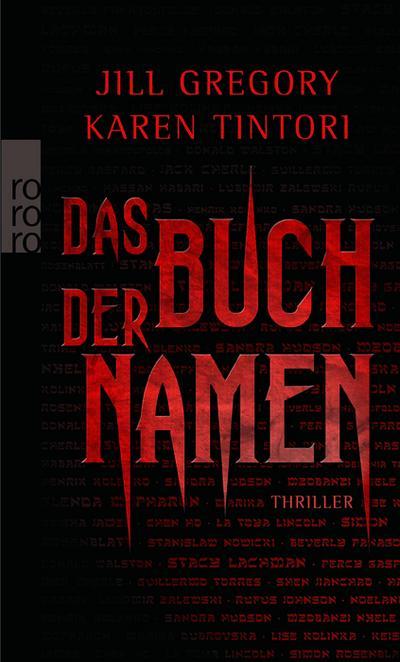Das Buch der Namen [Broschiert] by Jill Gregory; Karen Tintori; Anja Schünemann