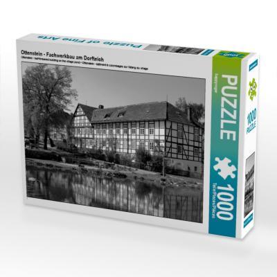 Ottenstein - Fachwerkbau am Dorfteich (Puzzle)