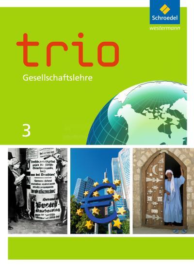 Trio Gesellschaftslehre 3. Schülerband. Hessen