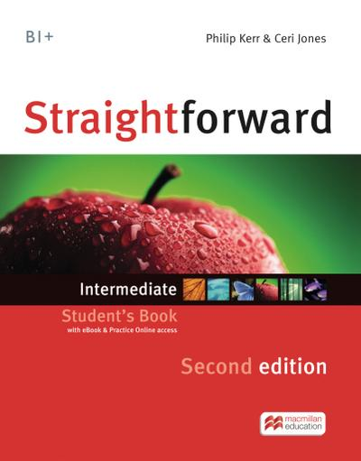 Straightforward Intermediate. Student's Book, Workbook, Audio-CD and Webcode