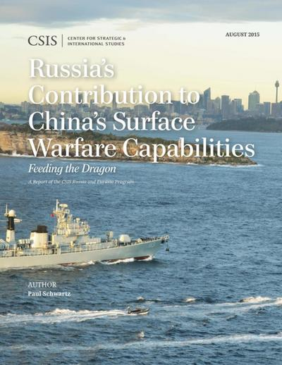 Russia's Contribution to China's Surface Warfare Capabilities