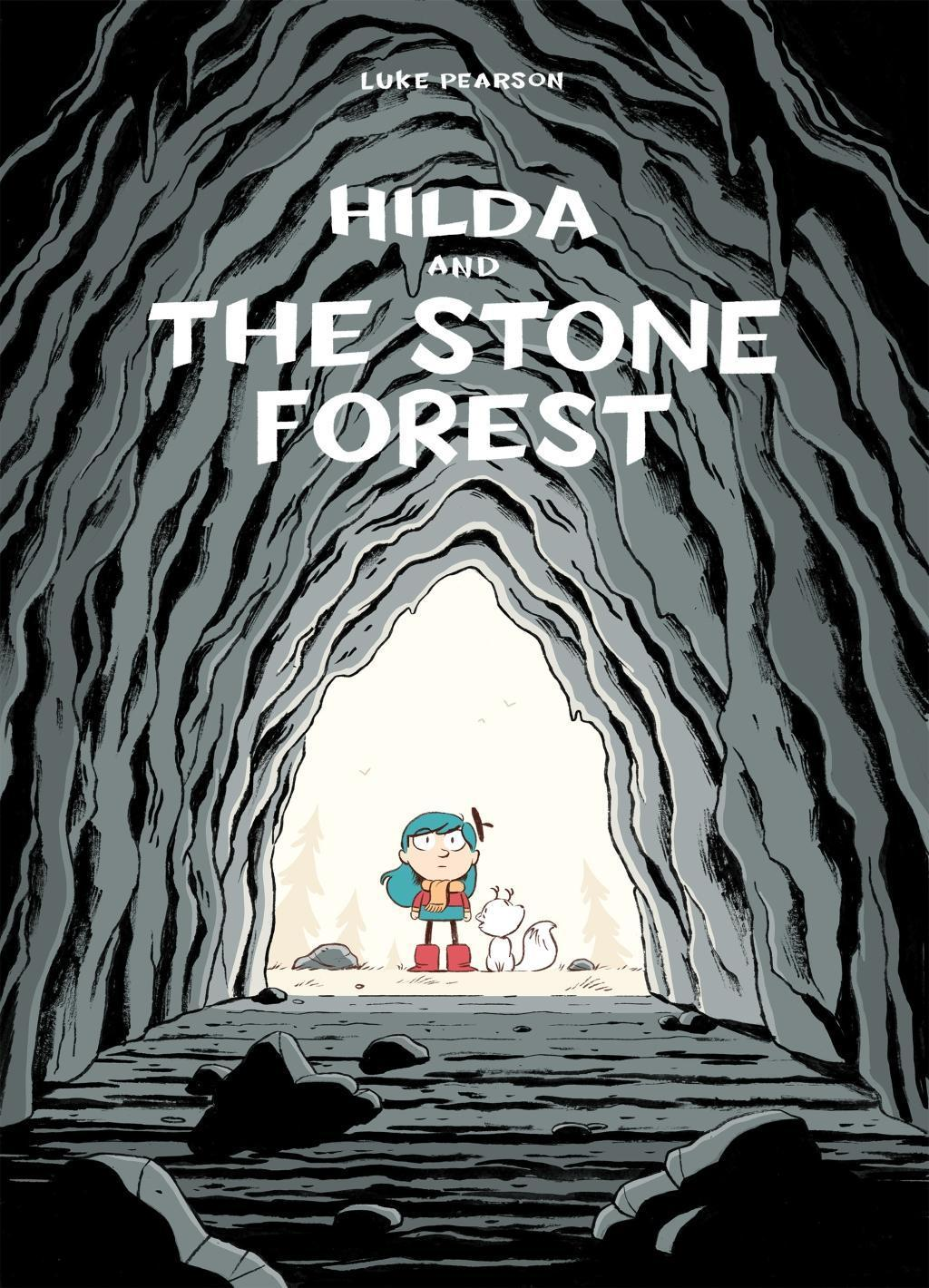 Hilda and the Stone Forest, Luke Pearson