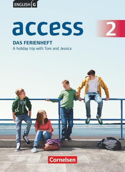 English G Access Band 2: 6. Schuljahr - Allgemeine Ausgabe - Das Ferienheft