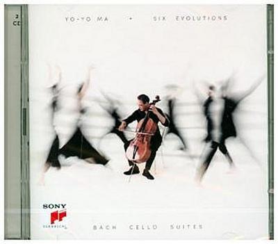 Six Evolutions - Bach: Cello Suites, 2 Audio-CDs