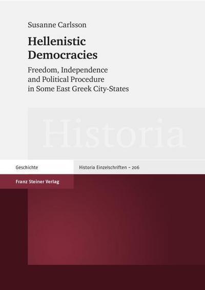 Hellenistic Democracies