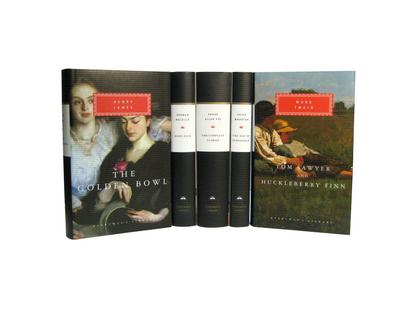 American 19th Century Literature: Complete Stories; The Golden Bowl; Moby-Dick; Tom Sawyer and Huckleberry Finn; The Age of Innocence