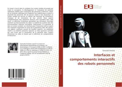 Interfaces et comportements interactifs des robots personnels