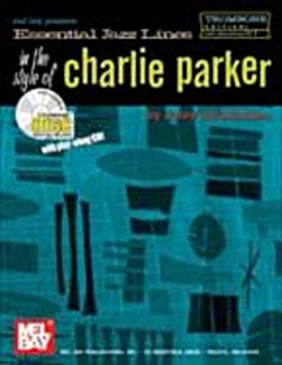 Essential Jazz Lines in the Style of Charlie Parker, Trombone Edition